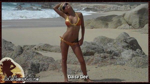 Busty Bikini Babe Strip Tease